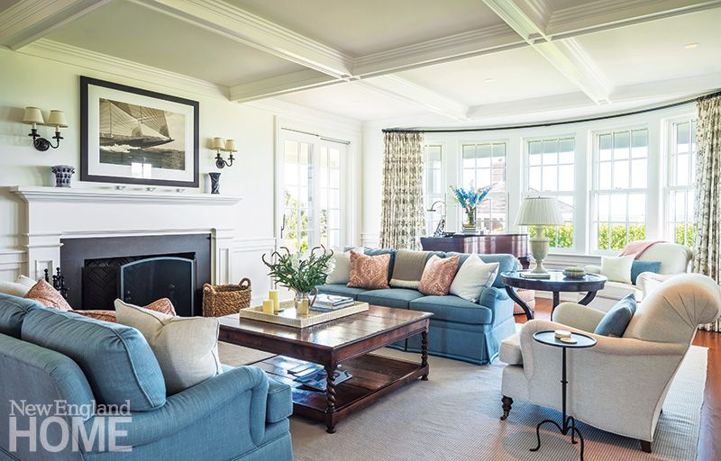 Lovely Millwork And Quietly Elegant Furnishings In The Living Room Mesh,  Providing A Setting Thatu0027s Both Comfortable And Beautiful.