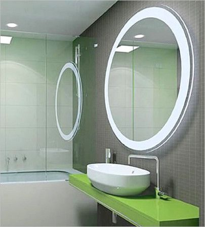 Elegant Bathroom Mirrors With Lights Round Mirror Bathroom Modern Bathroom Mirrors Bathroom Mirror Design