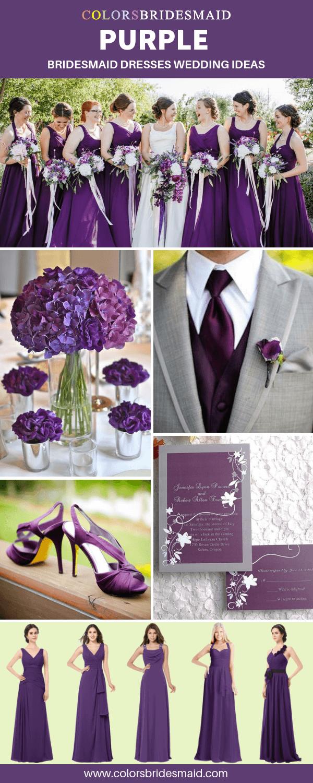 Pin On Purple Bridesmaid Dresses [ 1500 x 600 Pixel ]