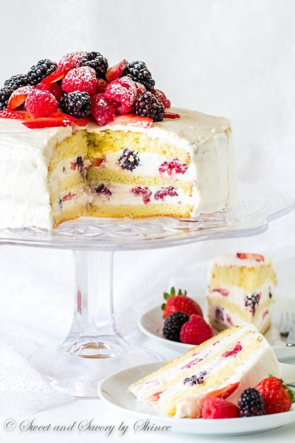 Berry Chantilly Cake Recipe Berry Chantilly Cake Chantilly Cake Recipe Berry Cake