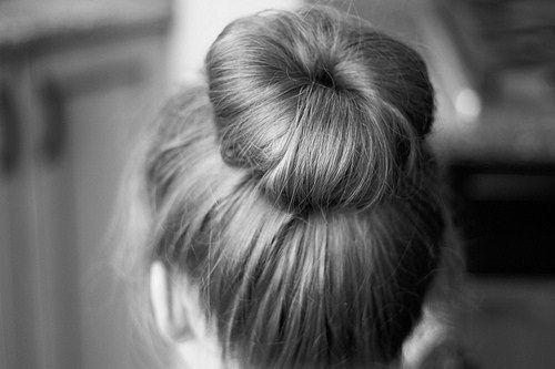 Ballet bun or doughnut...whichever way you see it