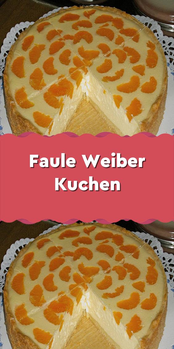 Faule Weiber Kuchen #schnelletortenrezepte