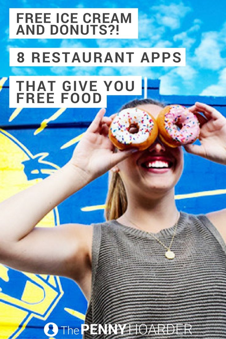 Free Ice Cream And Donuts 8 Restaurant Apps That Give You Free