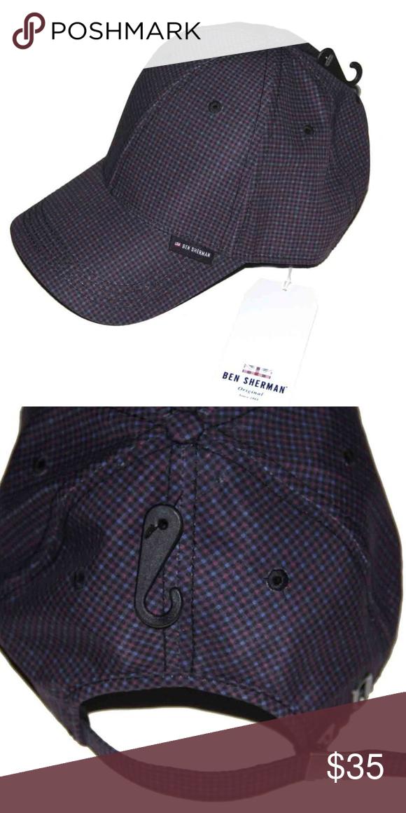 730198c42056d Men s Ben Sherman Cap Hat Checkered OS Men s brand new