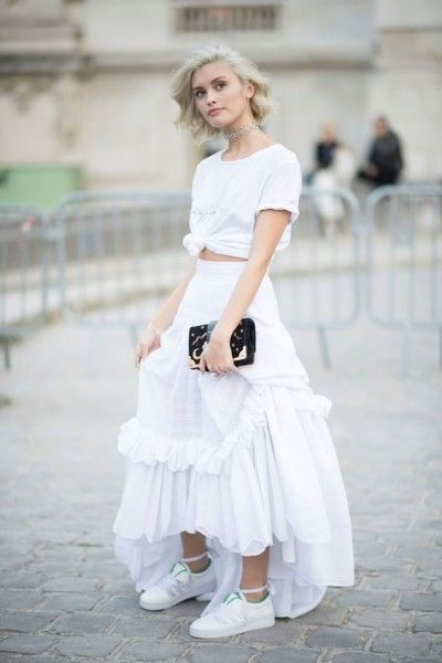 All White Outfit – Bikini trends 2020
