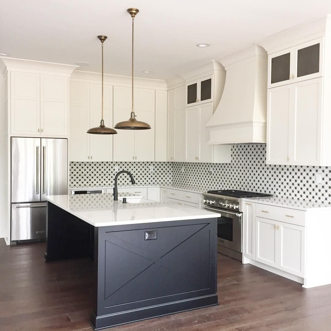 images of a kitchen cabinets black and white kitchen with cement tile backsplash k i 17783