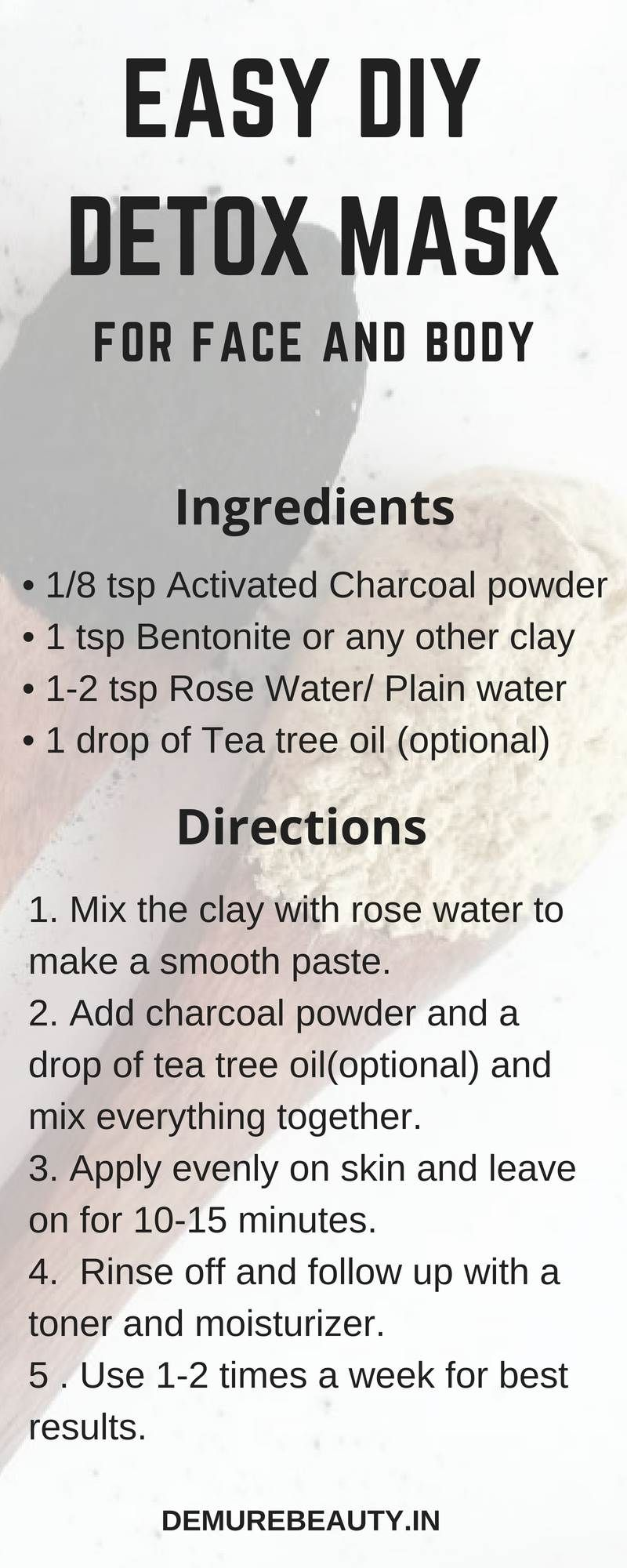 Get Top DIY Face Mask from demurebeauty.in