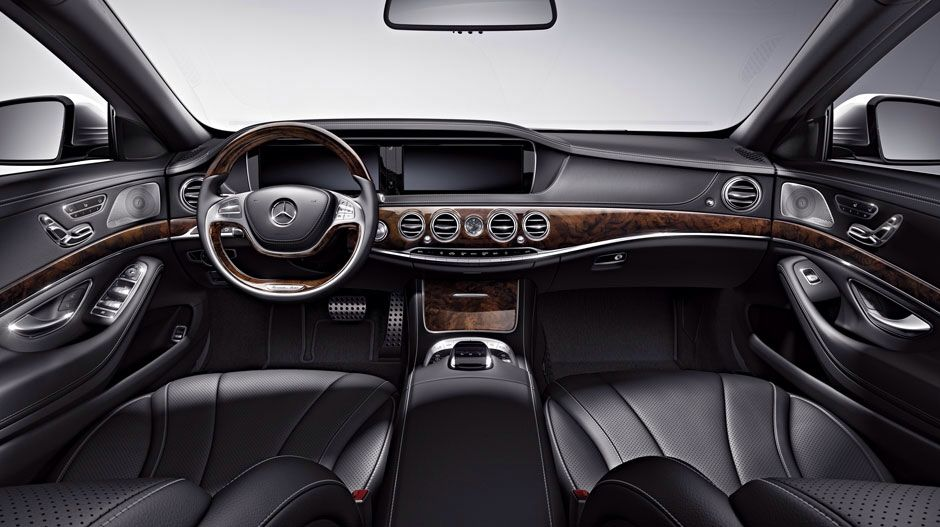 Mercedes Benz S Class Interior With Images Mercedes Benz S550