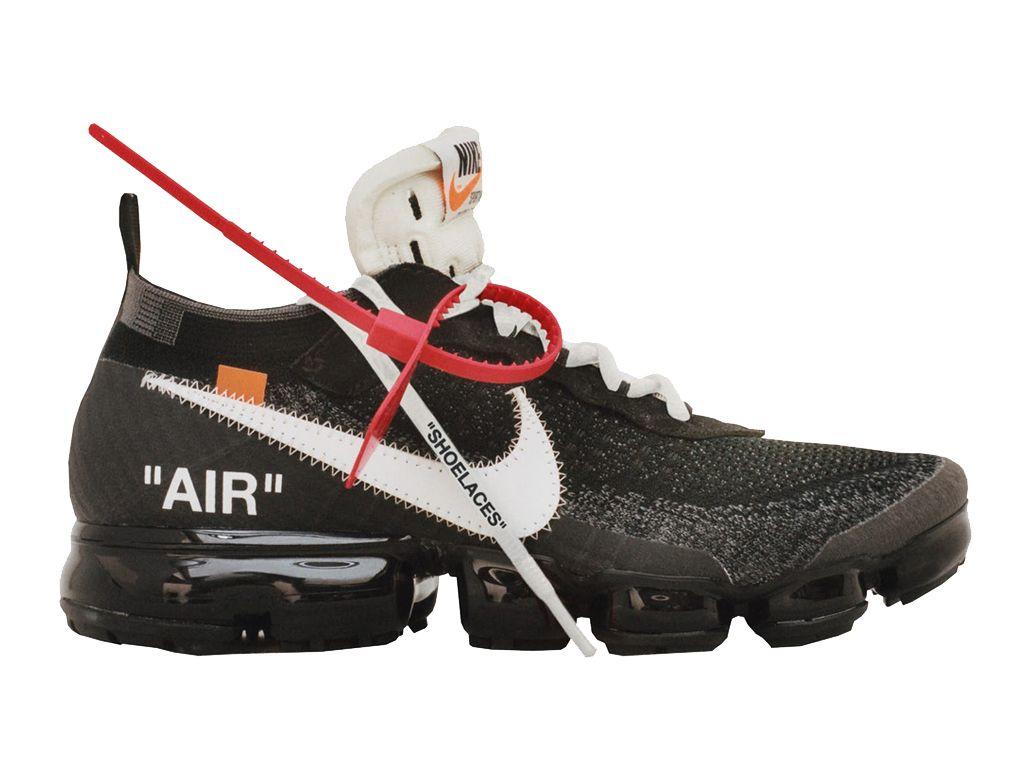 another chance e3664 48741 Classique Off-White X Nike Air VaporMax Prix Chaussures de basketball Homme  Femme Noir Blanc