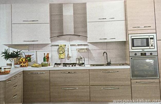 Cucina (cu-ci-na) Feminine singular noun La cucina - The kitchen ...
