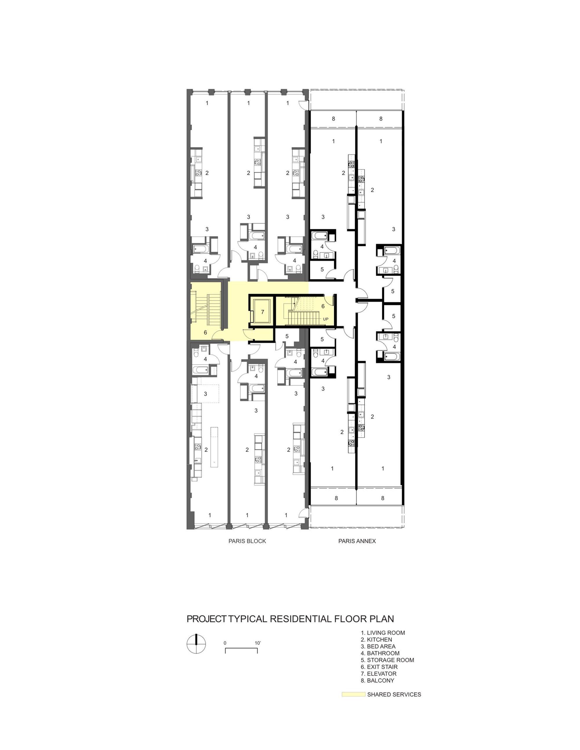 Paris Annex Gair Williamson Architect