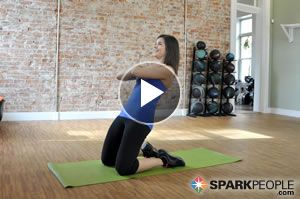 10-Minute Crunchless Core Workout Video