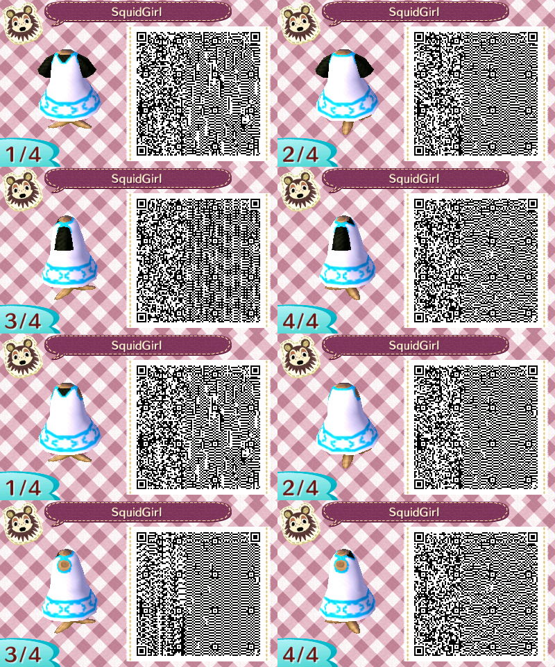 ACNL QR Code One of the Redd from Lavender creations