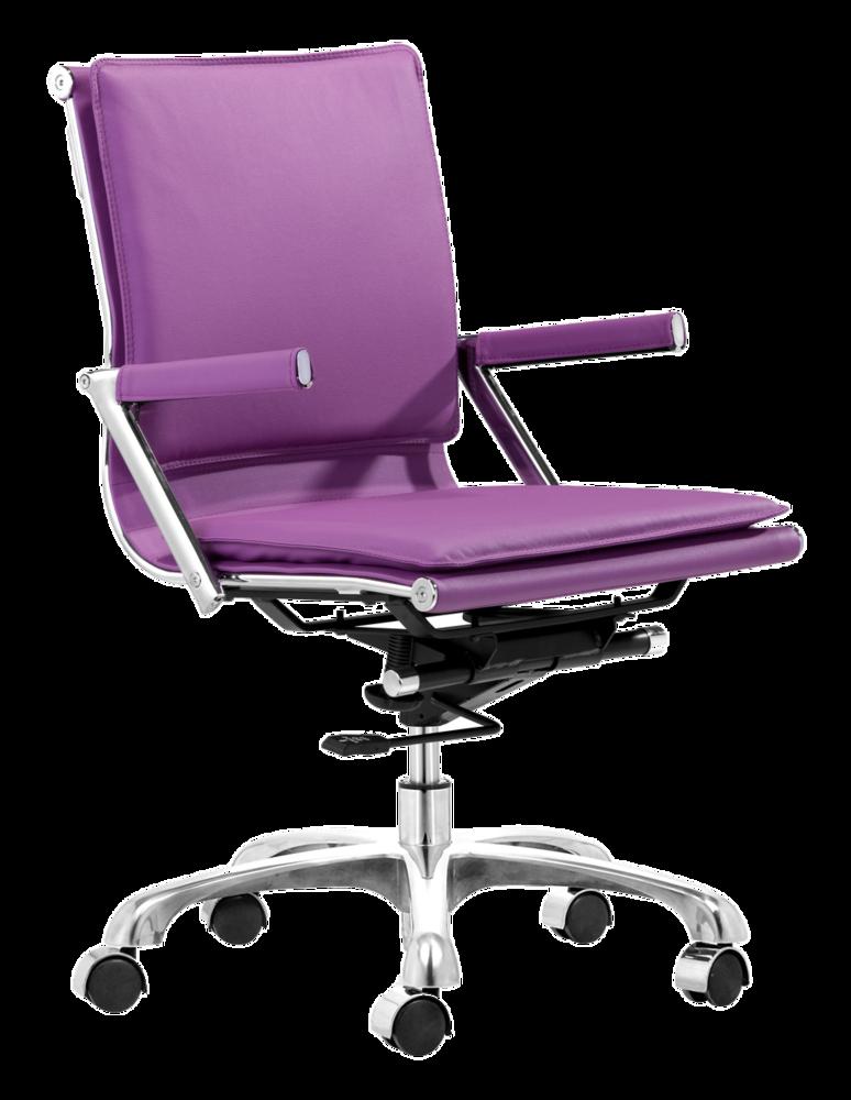 Lider Plus Office Chair Purple Zuo Modern Office Chair Modern Office Chair Purple Chair