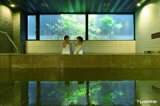 Artificial Carbonate Hot Springs @ Mitsui Garden Hotel Kyoto Shinmachi  Bettei In Kyoto #kyoto #