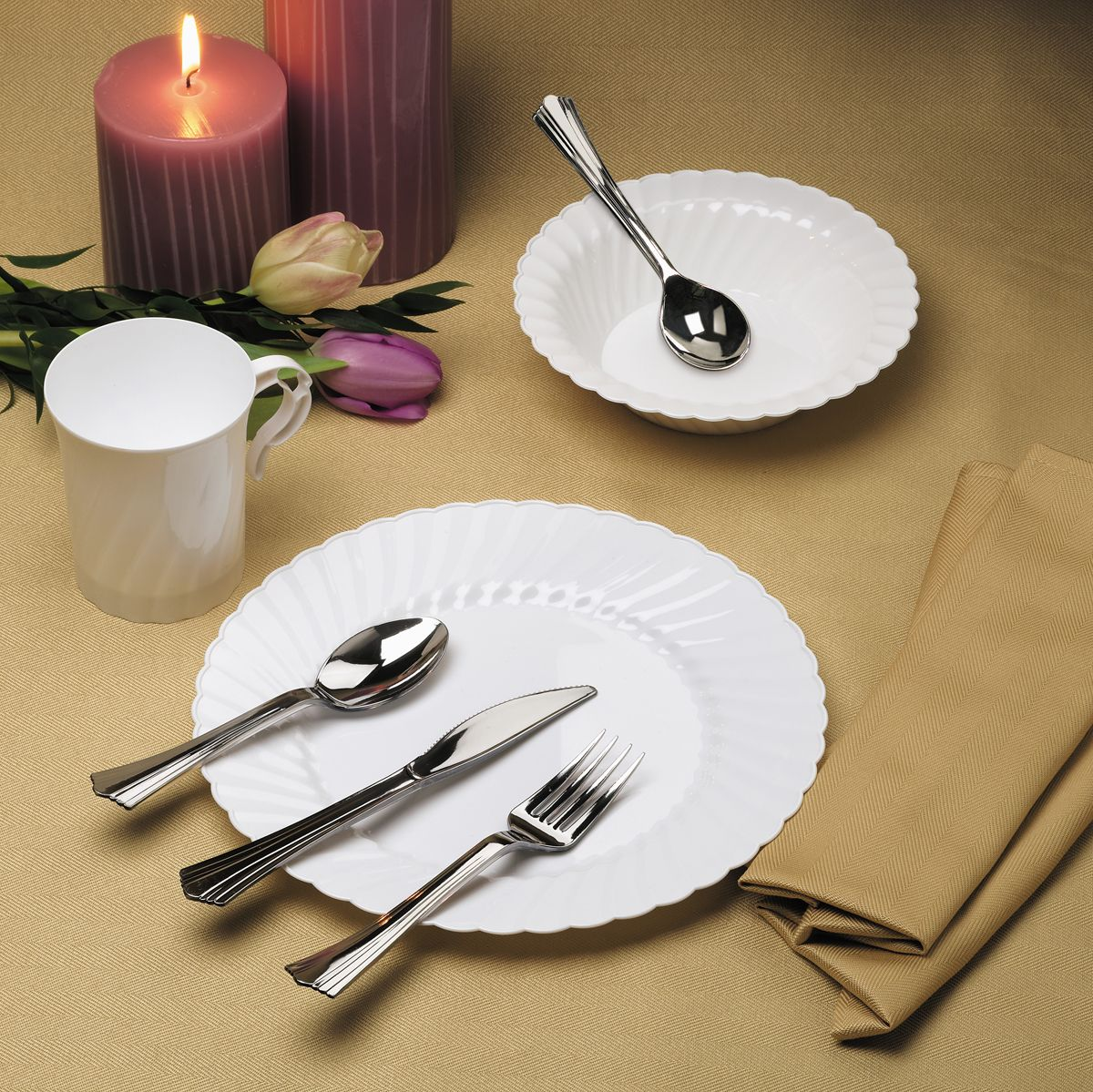 Who said you can\u0027t have an elegant night while using disposables? Classicware® & Who said you can\u0027t have an elegant night while using disposables ...