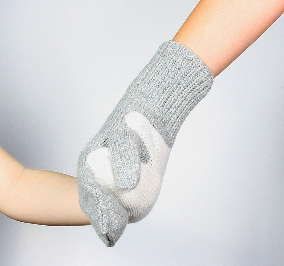 Hand in Hand Gloves - how sweet