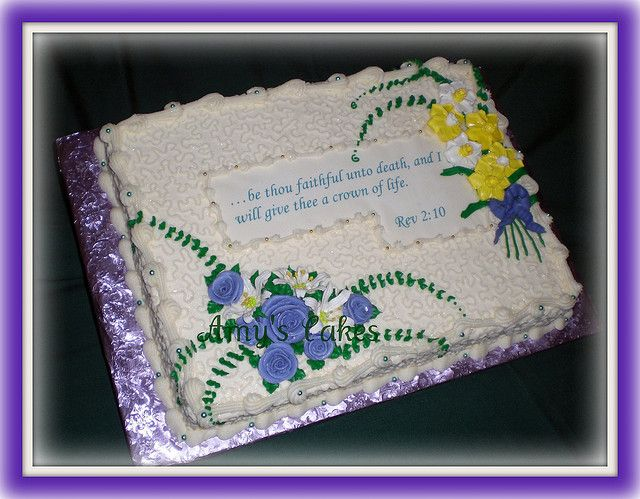 Reception Cake For Funeral With Images Reception Cake Funeral