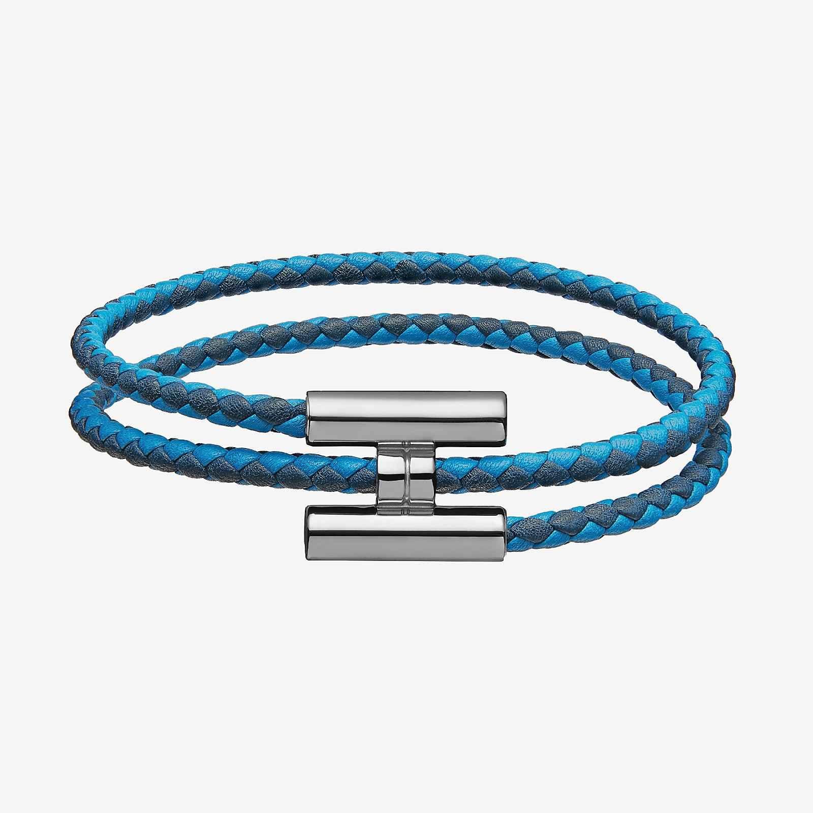 5d23a8198d8 Bracelet Tournis Tressé - front Tresse