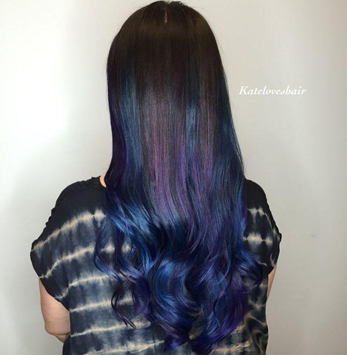 20 Dark Blue Hairstyles That Will Brighten Up Your Look Pinterest