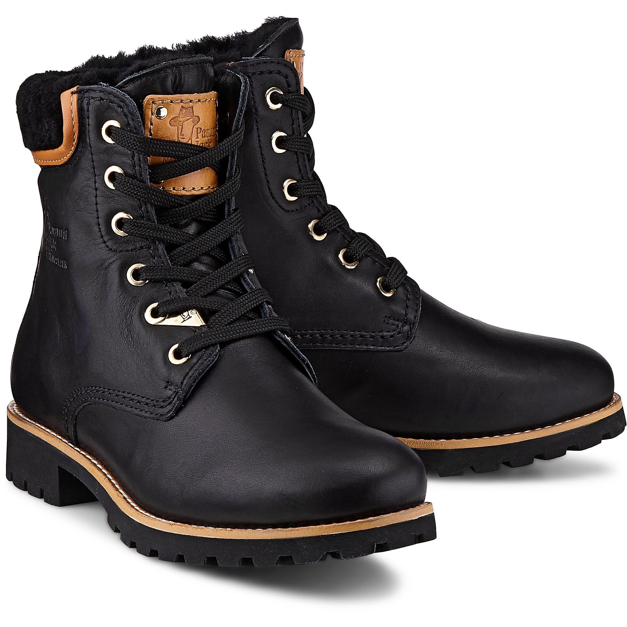 Panama 03 Igloo B1 Leder Schwarz Stiefel