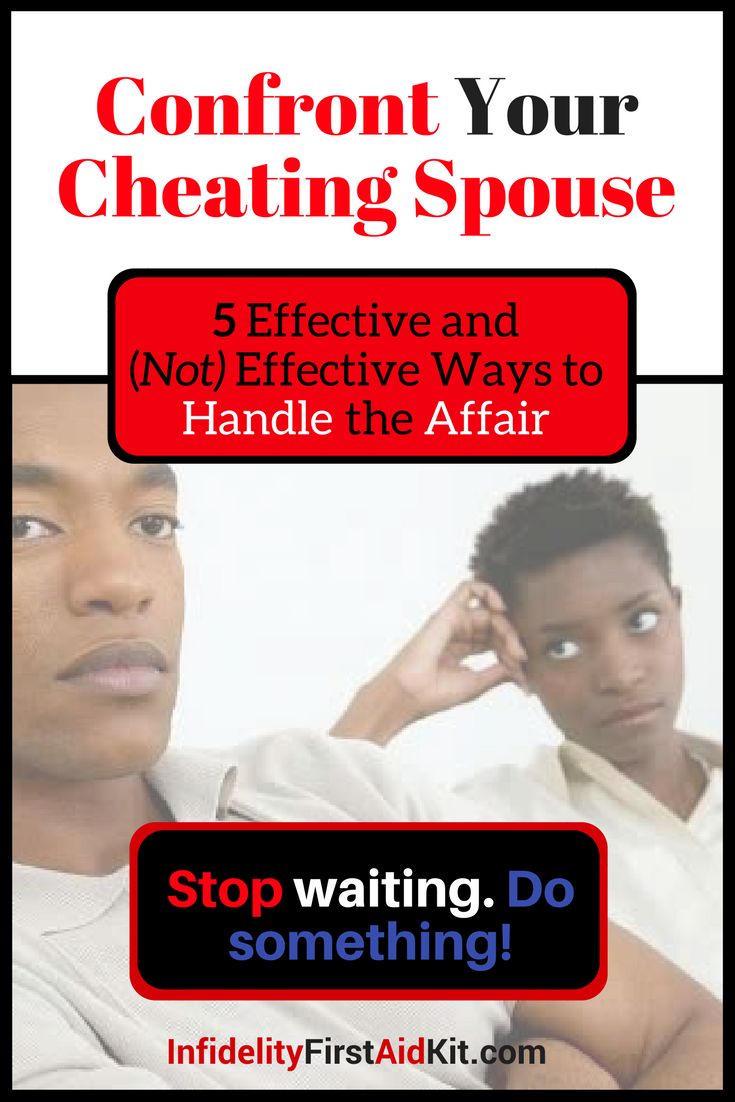 How To Talk To A Cheating Spouse