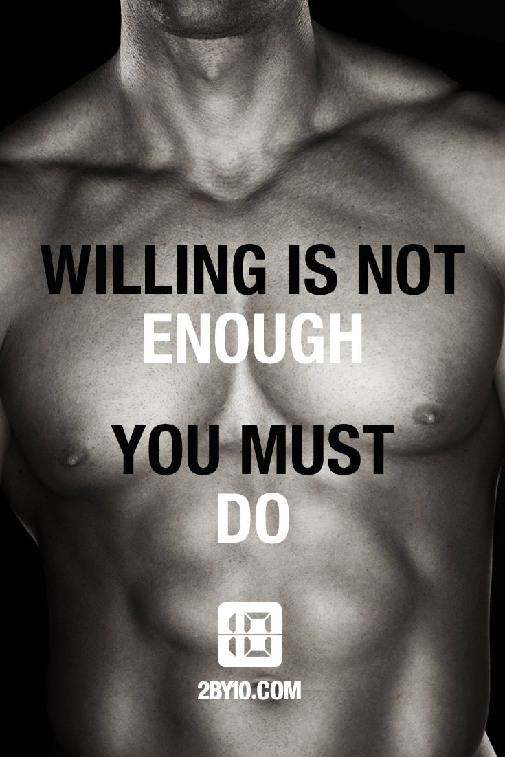 You must do! #health #fitness #fit #dedication #workout #hiit #motivation #healthy #determination #exercise