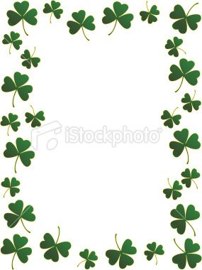 free shamrock border shamrock border item 3 pic pinterest rh pinterest co uk