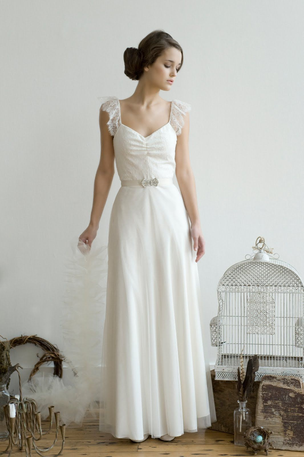 Elizabeth James wedding gown   Wedding Dress Swoonage- James, no ...
