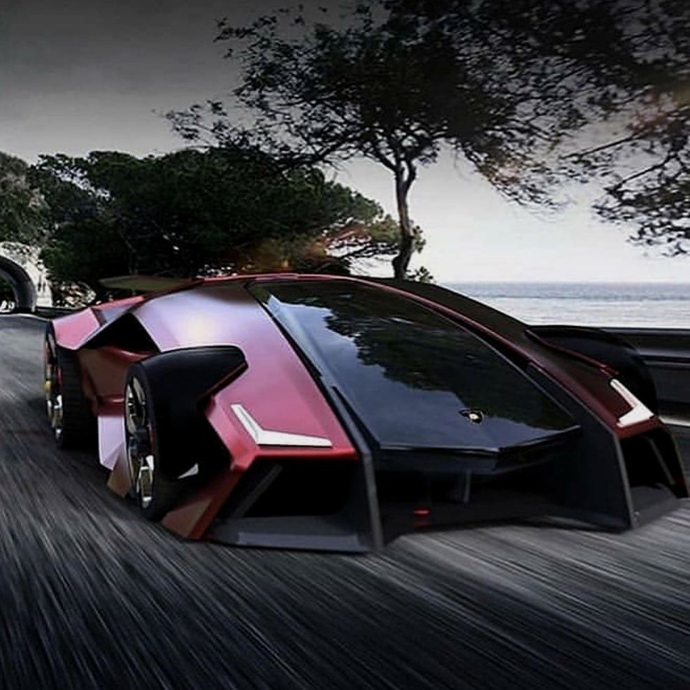 Car Cars Supercars The Future Is Now Lamborghini Concept