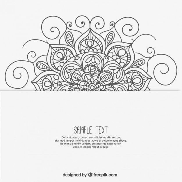 sketchy mandala hintergrund art mandala pinterest. Black Bedroom Furniture Sets. Home Design Ideas