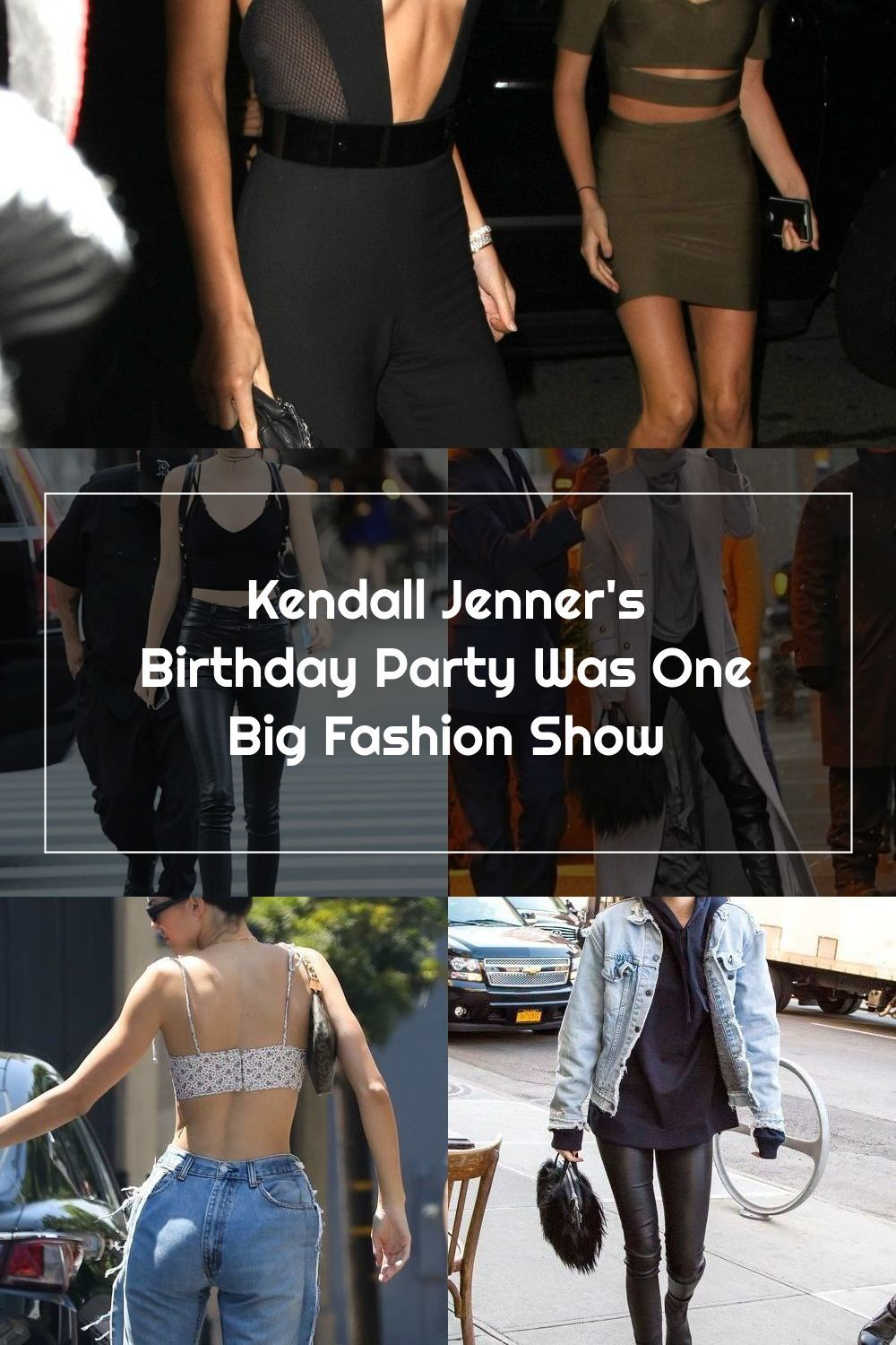 Kendall Jenner's Birthday Party Was One Big Fashion Show
