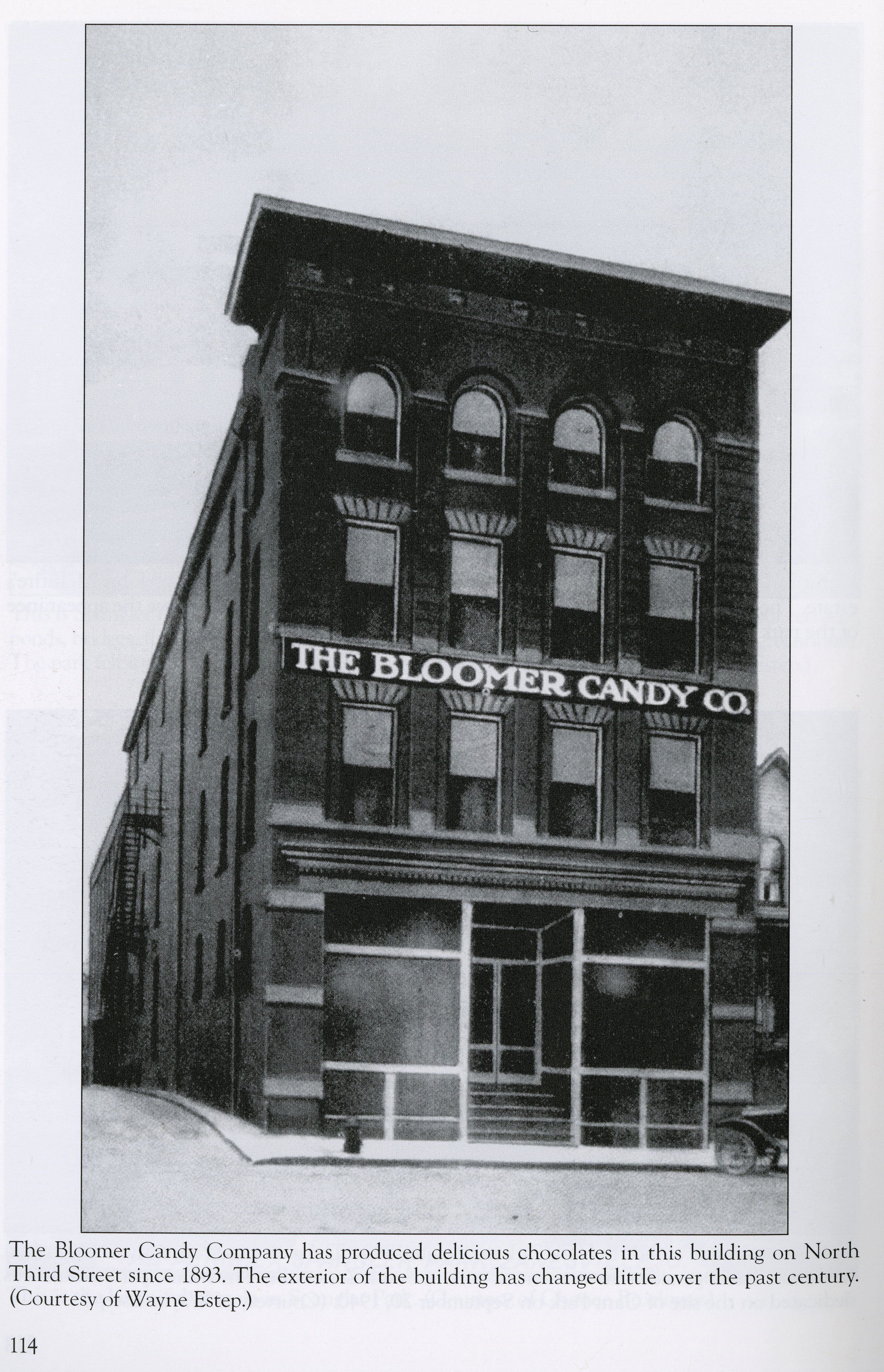 Bloomer Candy Co Zanesville Ohio Google Search Zanesville Ohio Ohio History Zanesville