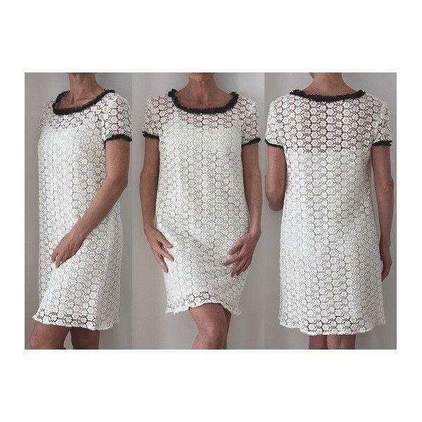 Patron couture gratuit robe dentelle
