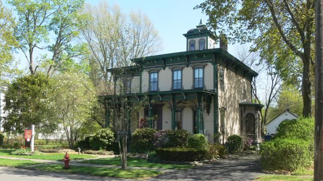 Introduction To American Victorian House Styles Stained Glass