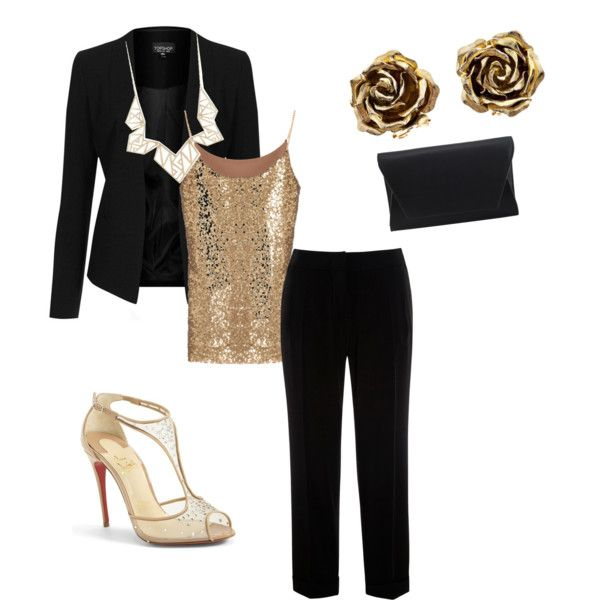 A fashion look from March 2015 featuring Topshop blazers, Weekend Max Mara pants and Christian Louboutin pumps. Browse and shop related looks.