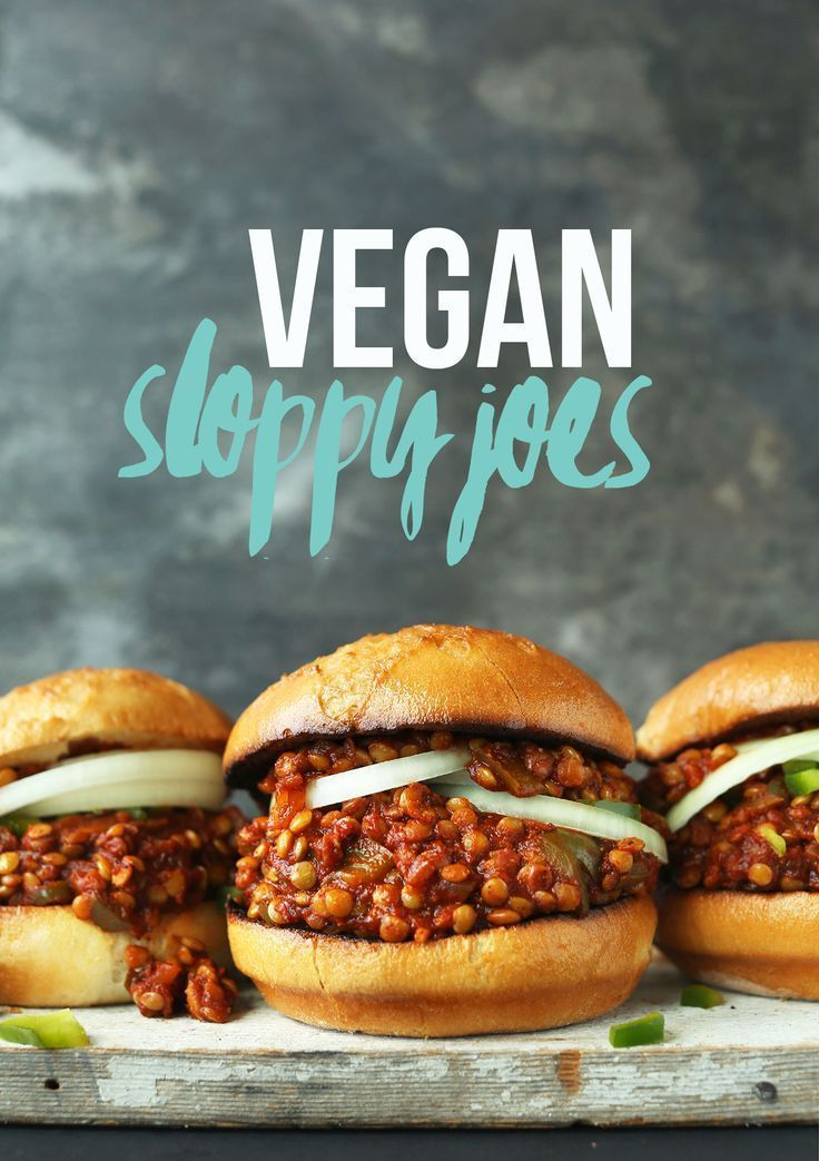 Hearty, flavorful Vegan Sloppy Joes made with fresh