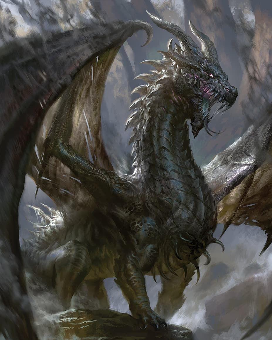 Мифологические картинки драконов