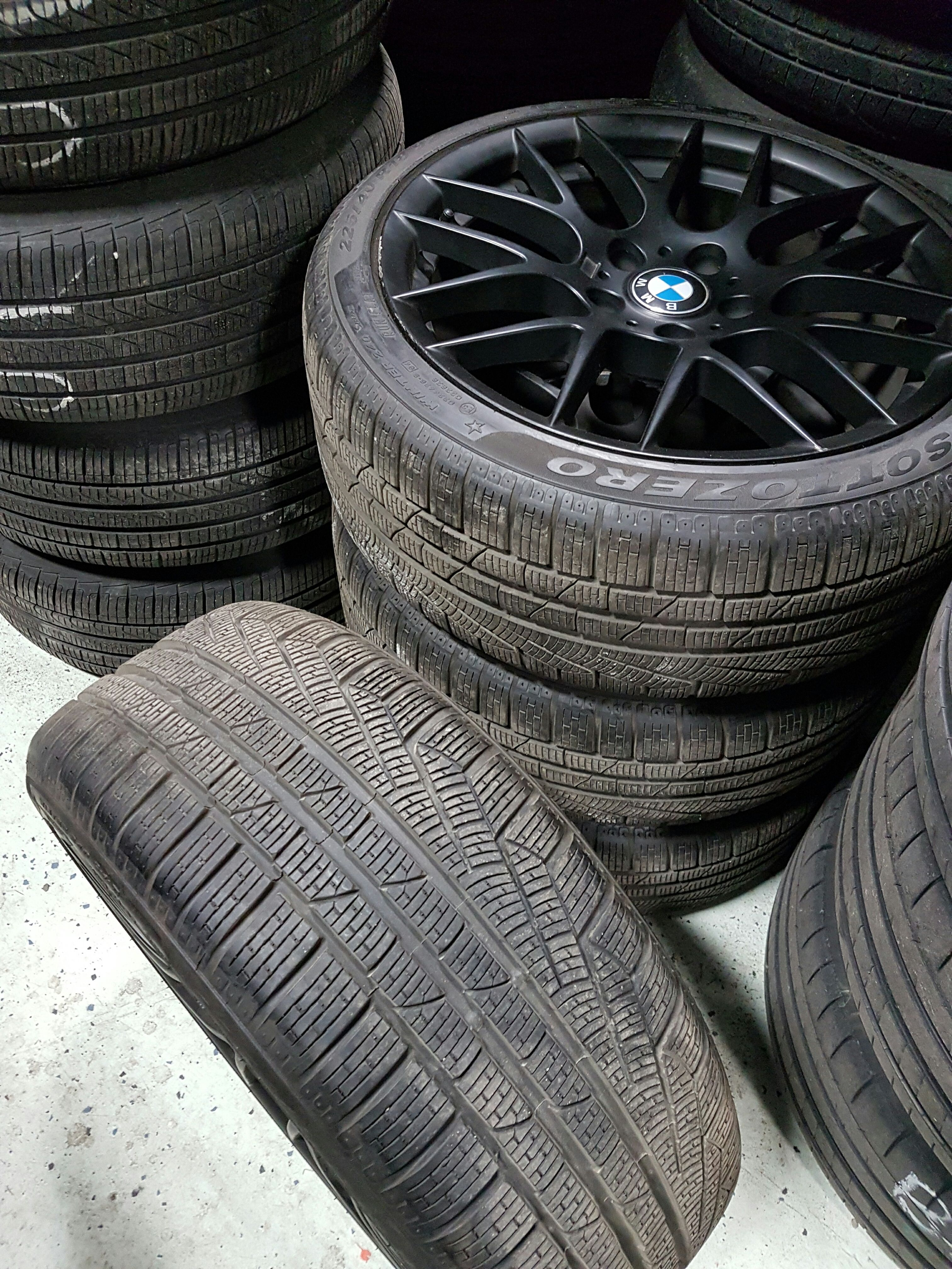 wheels no tire runflat oem available bmw longer tires recommended set winter rims wheel