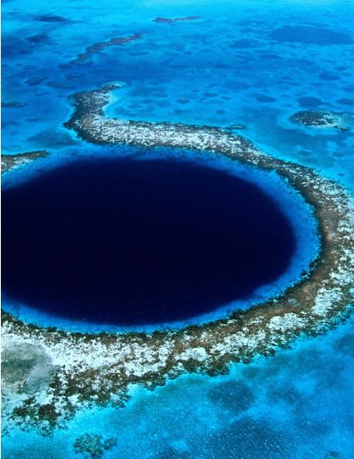 Blue Hole #AmazingLandscape