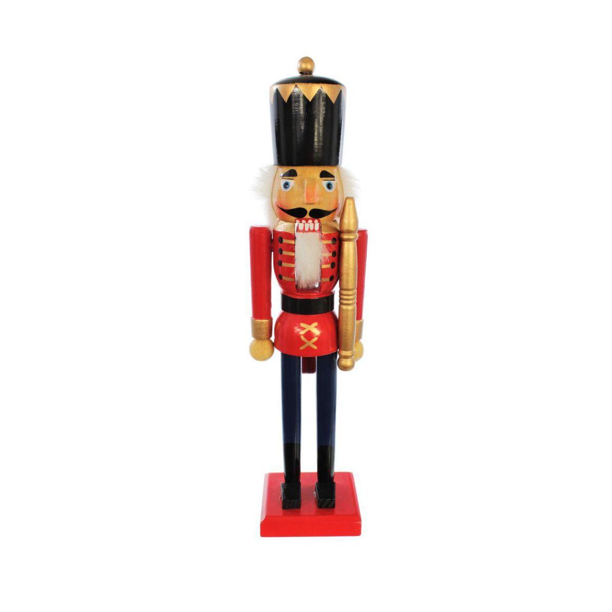 Figurka Dziadek Do Orzechow 38 Cm Swieczniki I Dekoracje Swiateczne W Atrakcyjnej Cenie W Sklepach Leroy Merlin Fun Christmas