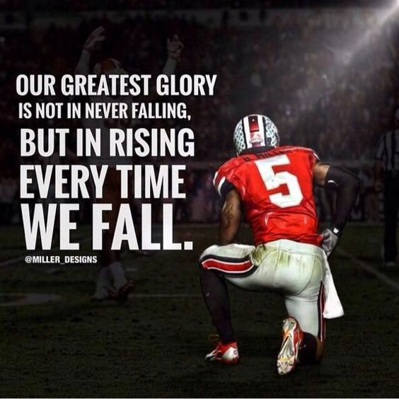 Inspirational NFL Quote