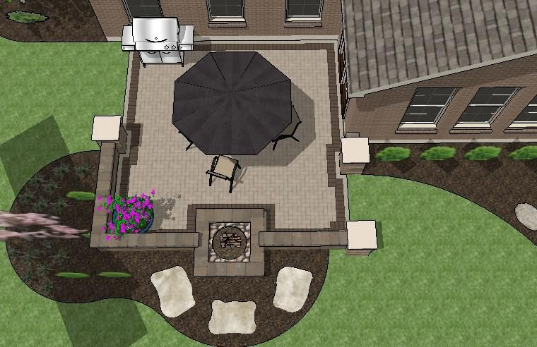 Perfect For 10 P Outs Our Diy Square Brick Patio Design With Seat Walls And Fire Pit Will Take You Step By How To Construct