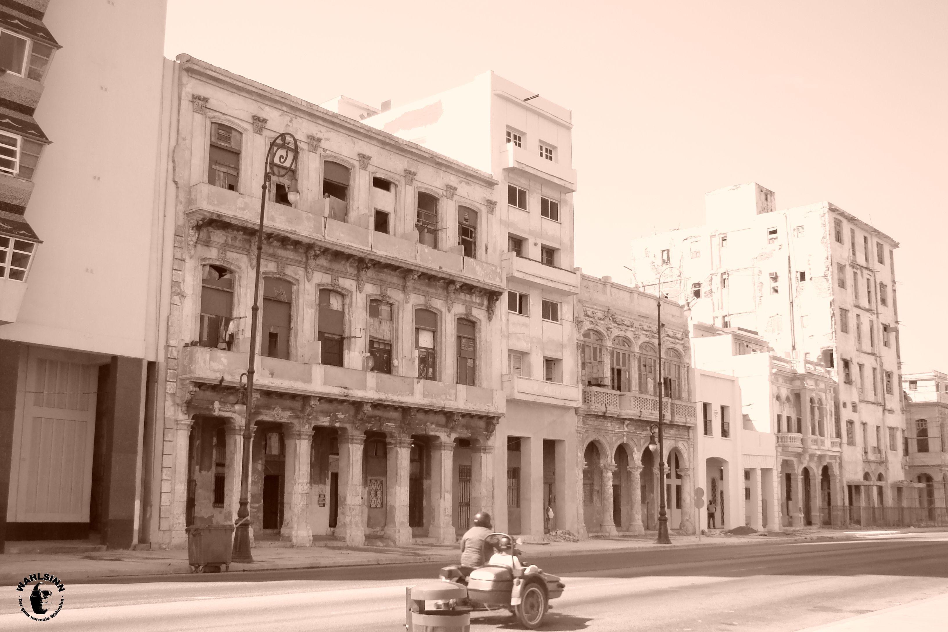 Malerisch schön ist es in Havanna (Kuba)