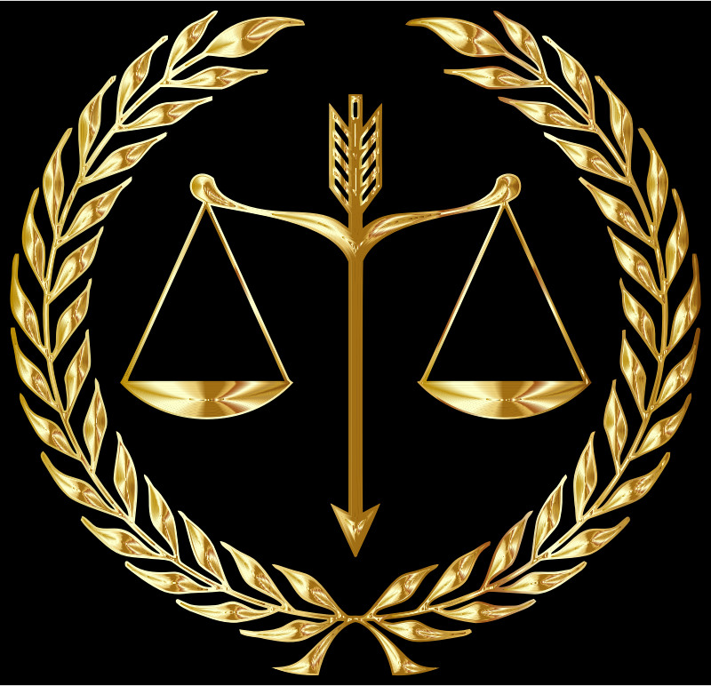 Justice Emblem Gold Openclipart Justice Logo Emblems Picture Logo