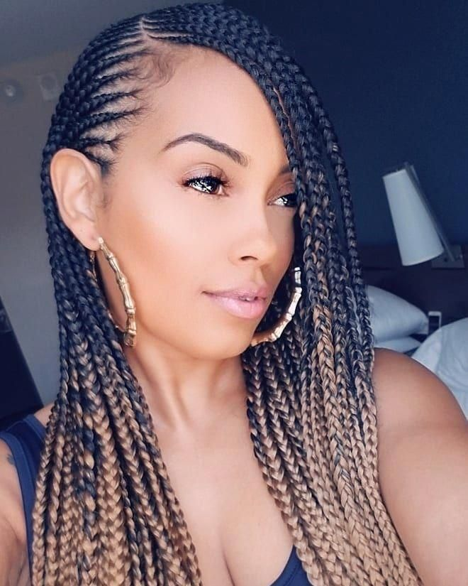 Braided Hairstyles By Nigerian Girls Braidedhairstyles Hair Styles Cornrows With Weave Braids With Weave