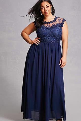 149b1af8b5b6 Soieblu Crochet Lace Gown | Products | Dresses, Plus size dresses ...