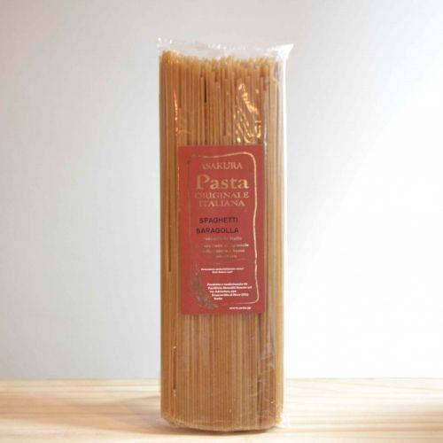 古代小麦サラゴッラ(5分づき)スパゲッティ1.8mm (490g) 自然栽培