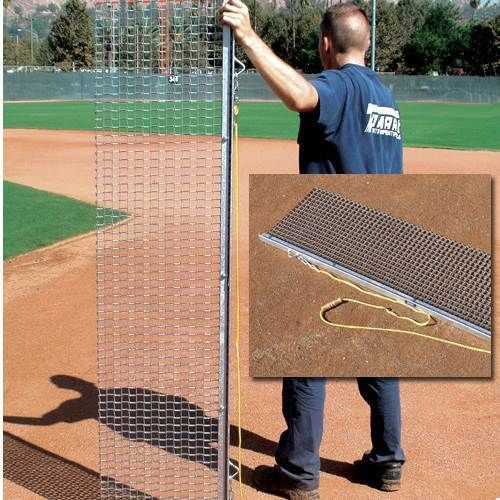 Drag Mats 181321: Rigid Drag Mat - 4W X 18L Baseball/Softball Field Maintenance BUY IT NOW ONLY: $140.95