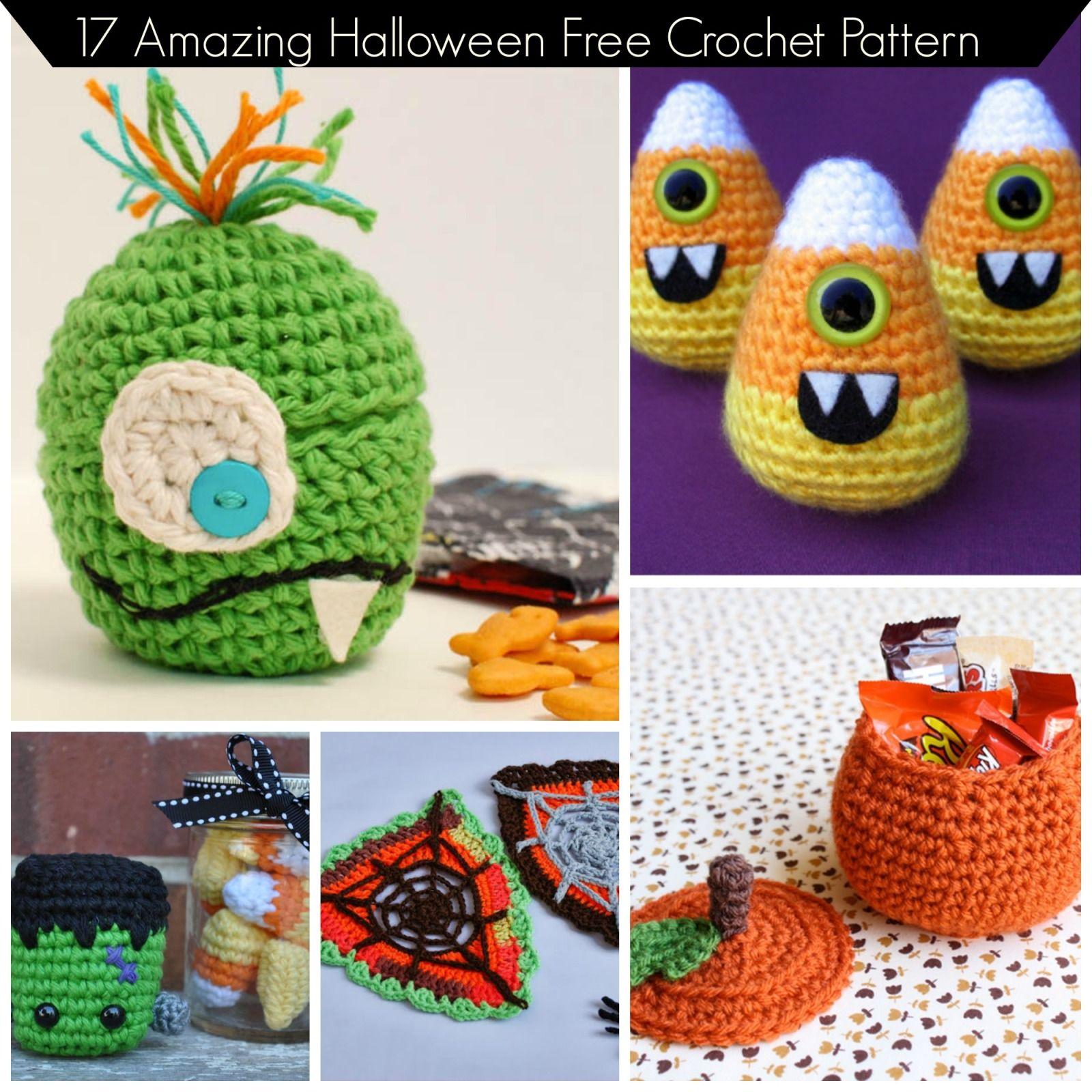 17 Amazing Halloween Free Crochet Pattern | The WHOot Best Crochet ...